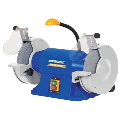 """Picture of Bench Grinder 200mm (8"""") with Flexible LED Light"""