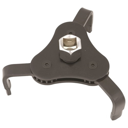Picture of Oil Filter Wrench 2 Way 3 Jaw