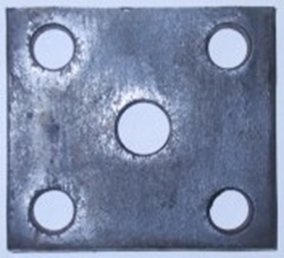 Picture of 40 X 45 X 10MM FISH PLATE:12MM