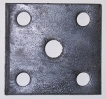 Picture of 45 X 45 X 10MM FISH PLATE-12MM