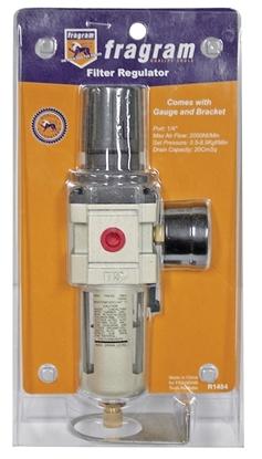 Picture of Fragram 1/4″ Port Filter Regulator with Gauge and Bracket